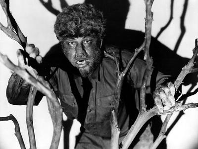 The Wolf Man, Lon Chaney, Jr., 1941 Photo