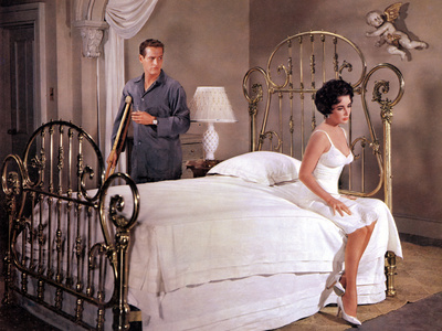 Cat On A Hot Tin Roof, Paul Newman, Elizabeth Taylor, 1958 Photo