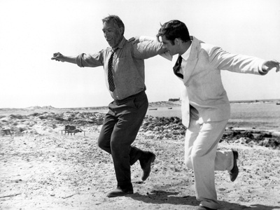 Zorba The Greek, Anthony Quinn, Alan Bates, 1964, Greek Dance Photo