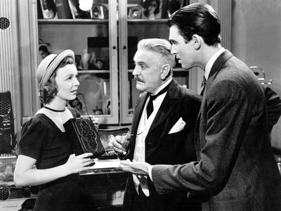 The Shop Around The Corner, Margaret Sullavan, Frank Morgan, James Stewart, 1940 Photo