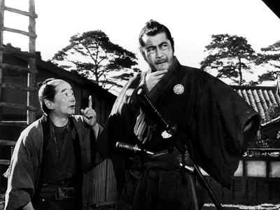 Yojimbo, (aka The Bodyguard), Ikio Sawamura, Toshiro Mifune, 1961 写真