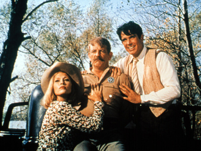 Bonnie And Clyde, Faye Dunaway, Denver Pyle, Warren Beatty, 1967 Photo