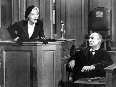Witness For The Prosecution, Marlene Dietrich, 1957 Photo