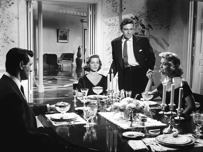Written On The Wind, Rock Hudson, Lauren Bacall, Robert Stack, Dorothy Malone, 1956 Foto