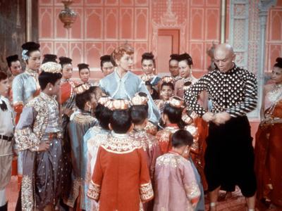 The King And I, Deborah Kerr, Yul Brynner, 1956 Photo