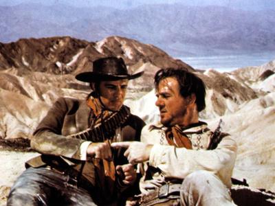 One-Eyed Jacks, Marlon Brando, Karl Malden, 1961 Photo
