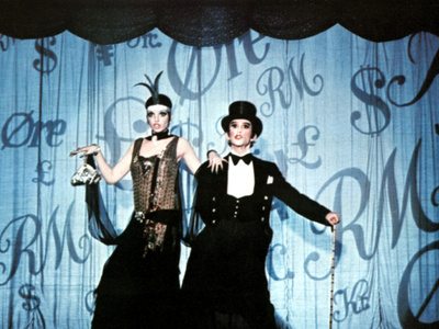 Cabaret, Liza Minnelli, Joel Grey, 1972 Photo