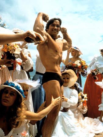 Stay Hungry, Arnold Schwarzenegger, 1976 Photo