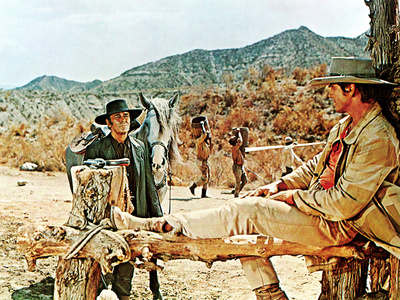Once Upon A Time In The West, Henry Fonda, Charles Bronson, 1969 Photo
