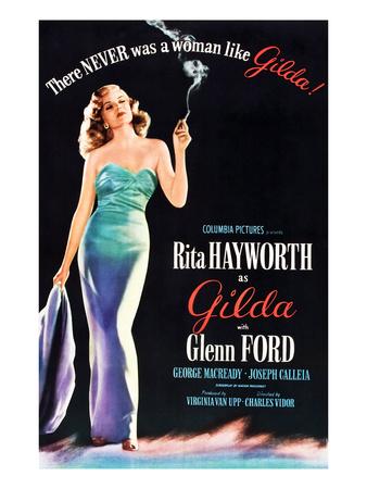 Gilda, Rita Hayworth, 1946 Photo
