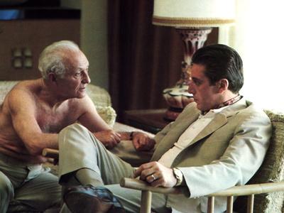 The Godfather: Part II, Lee Strasberg, Al Pacino, 1974 Photo
