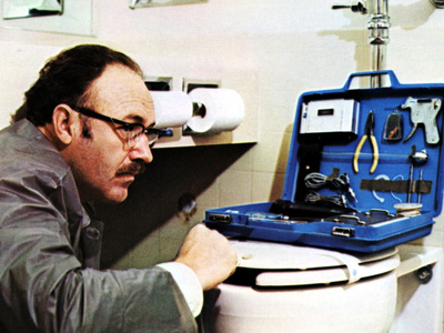 The Conversation, Gene Hackman, 1974 Photo