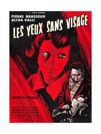 Eyes Without A Face, (AKA Les Yeux Sans Visage), Edith Scob, Pierre Brasseur, 1959 Photo