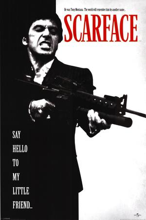 Zjizvená tvář – Scarface Plakát