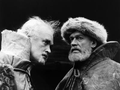 King Lear, Patrick Magee, Paul Scofield, 1971 Photo