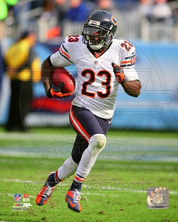 Devin Hester 2012 Action Photo
