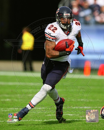Matt Forte 2012 Action Photo