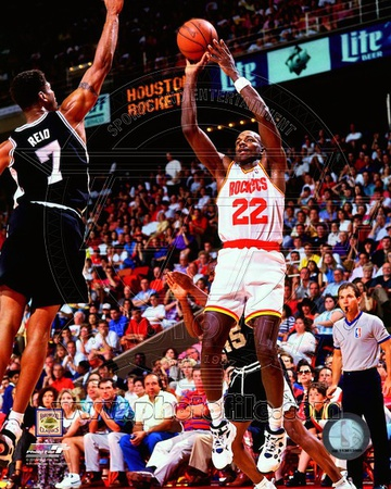 Clyde Drexler 1994-95 Action Photo