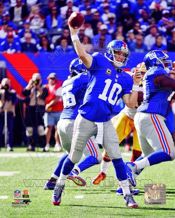 Eli Manning 2012 Action Photo