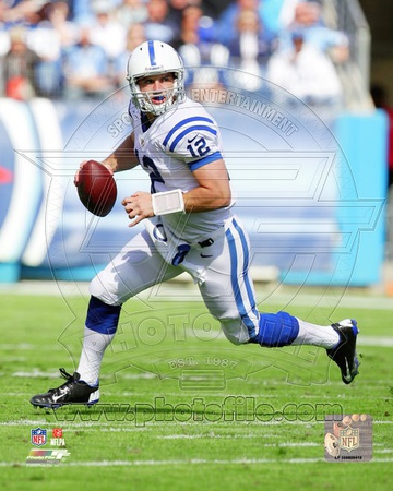 Andrew Luck 2012 Action Photo