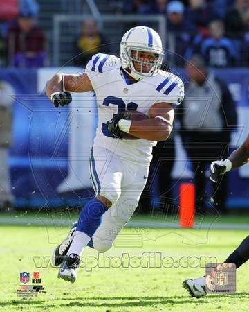 Donald Brown 2012 Action Photo