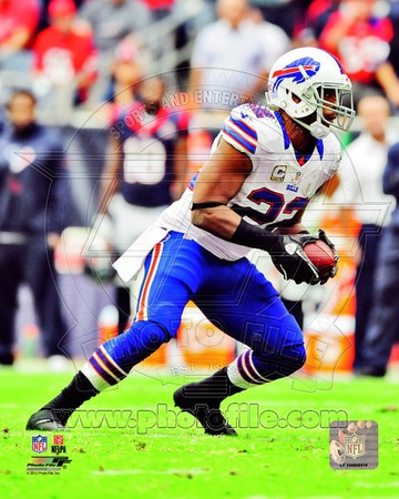 Fred Jackson 2012 Action Photo