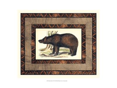 Rustic Bear Prints by  Vision Studio