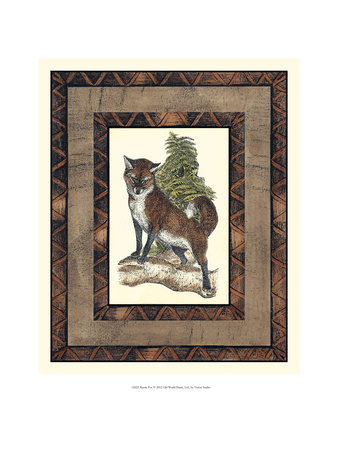 Rustic Fox Posters by  Vision Studio
