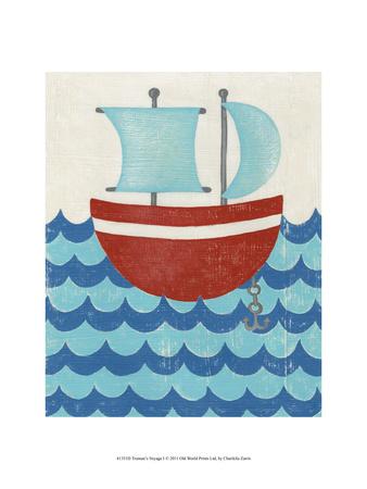 Truman's Voyage I Prints by Chariklia Zarris