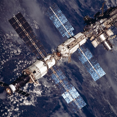 International Space Station in 2001 Photo