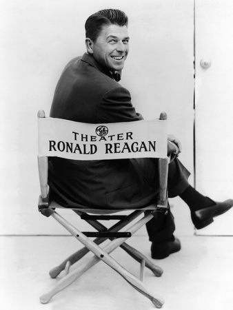 Ronald Reagan Was Host of the General Electric Theater on CBS Television from 1954-1962 Photo
