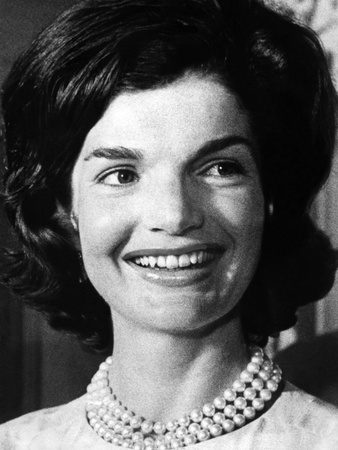 Jacqueline Kennedy as First Lady, ca 1962 Photo