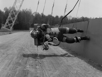 Astronaut Training for Moon Missions Photo