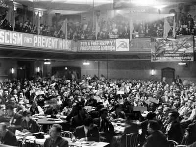 General View of the Communist National Convention at the Metropolitan Opera House Photo