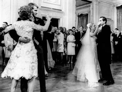 Nixon-Cox White House Wedding Reception Photo