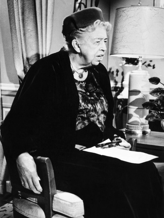 Eleanor Roosevelt in the Last Decade of Her Life Photo