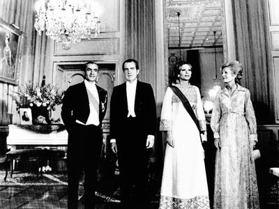 President Richard and Pat Nixon at the Shah's Niavaran Palace Photo