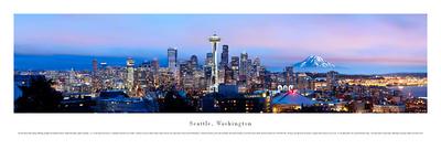 Seattle, Washington Prints by James Blakeway