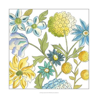 Bouquet Garden IV Print by Chariklia Zarris