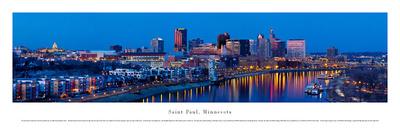 Saint Paul, Minnesota Posters by Christopher Gjevre