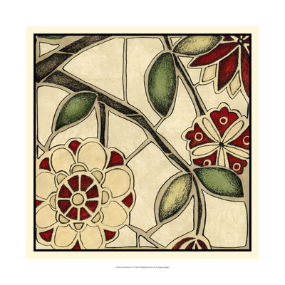 Floral Mosaic IV Prints by Megan Meagher