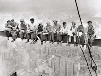 Lunch Atop Skyscraper, Rockefeller Center, 1932 Posters by Charles C. Ebbets