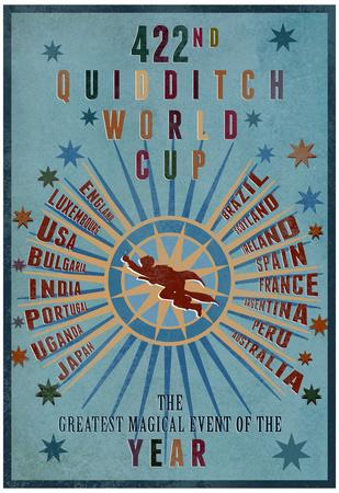 422º Campeonato del Mundo de Quidditch Póster