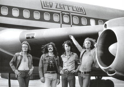 Led Zeppelin Airplane Posters