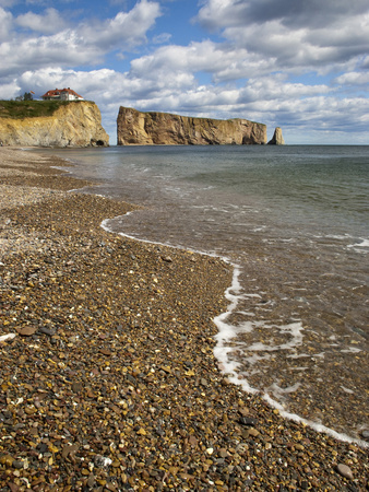 Perce Gaspe Bay, Quebec, Canada Photographic Print by Patrick J. Wall