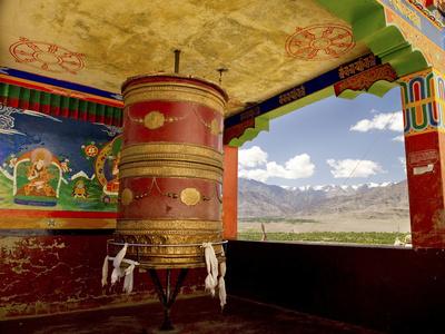 Gompas and Chortens, Ladakh, India Fotoprint av Jaina Mishra