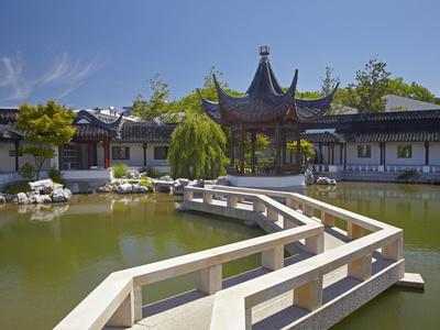 Chinese Gardens, Dunedin, Otago, South Island, New Zealand Photographic Print by David Wall