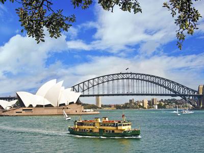 Sydney Opera House, Sydney, New South Wales, Australia Photographic Print by Miva Stock