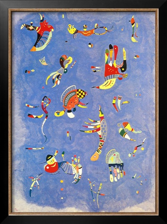 Sky Blue, c.1940 Prints by Wassily Kandinsky