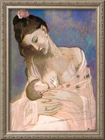 Maternity Prints by Pablo Picasso